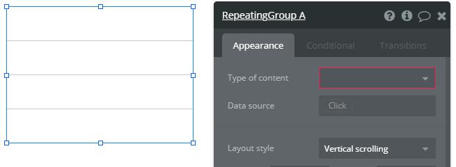 Repeating Groupエレメントの使い方