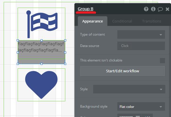 グループ内のエレメントに合わせてグループの大きさを変える方法を勉強(ワークフロー編)
